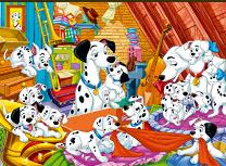 101 Dalmatieni Puzzle Mania