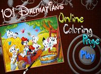 101 Dalmatieni de Colorat