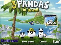 3 Panda in Brazilia