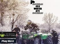 ATV 4X4 de Iarna