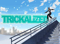 Acrobatii cu Snowboard 3D