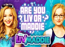 Jocuri cu Liv si Maddie