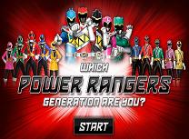 Afla ce Generatie de Power Rangers Esti