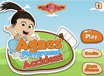 Agnes Accident la Locul de Joaca