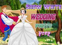 Alba ca Zapada Pregatiri de Nunta