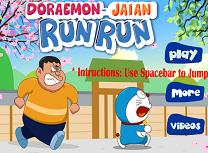 Alearga cu Doraemon