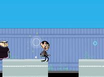 Alearga cu Mr Bean
