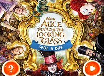 Alice Through the Looking Glass 6 Diferente