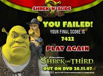 Alunecari cu Shrek