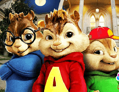 Alvin si Veveritele - Litere Ascunse