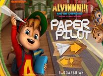 Alvin si Veveritele Avioane de Hartie