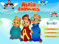 Alvin si Veveritele Cursa