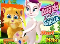 Angela Il Picteaza pe Ginger