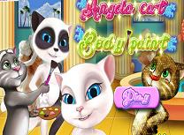 Angela Picteaza Pisicile