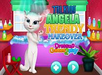 Angela Tinuta si Machiaj