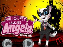 Angela de Halloween