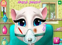 Angela la Operatie