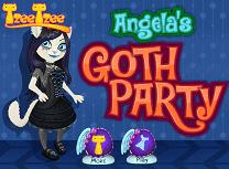 Angela la Petrecerea Gotica