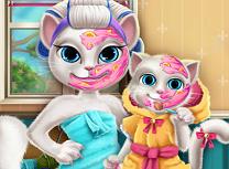 Angela si Fiica Tratamente Faciale
