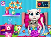 Angela si Nasterea Bebelusului