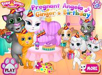 Angela si Petrecerea lui Ginger