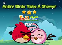 Angry Birds Fac un Dus