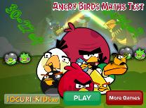 Angry Birds la Matematica