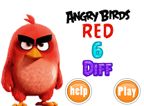 Angry Birds Red 6 Diferente