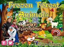 Animalele Din Padurea Frozen