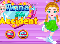 Anna Accident la Schi
