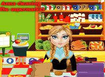 Anna Curatenie in Supermarket