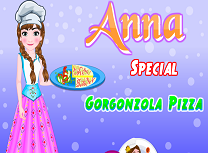 Anna Gateste Pizza cu Gorgonzola