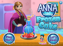 Anna Gateste Tort Frozen