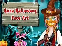 Anna Picturi pe Fata de Halloween