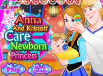 Anna Si Kristoff Au Grija de Printesa