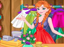 Anna in Mall