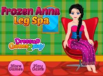 Anna la Spa Pentru Picioare