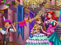 Anna si Ariel la Bal