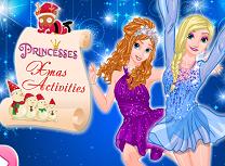Anna si Elsa Activitati de Craciun