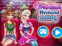 Anna si Elsa Activitati de Weekend