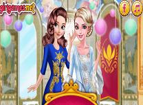 Anna si Elsa Bal in Arendelle