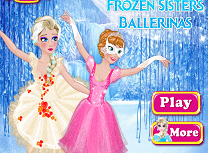 Anna si Elsa Balerine