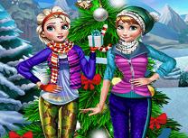 Anna si Elsa Distractie de Iarna