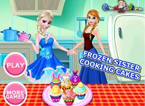 Anna si Elsa Fac Prajituri