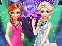Anna si Elsa Ies in Oras