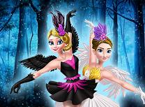 Anna si Elsa Lacul Lebedelor