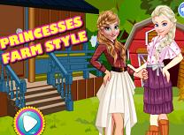 Anna si Elsa Moda de Ferma