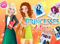 Anna si Elsa Moda de Toamna