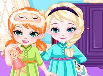 Anna si Elsa Ora de Culcare