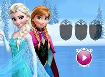 Anna si Elsa Patinaj